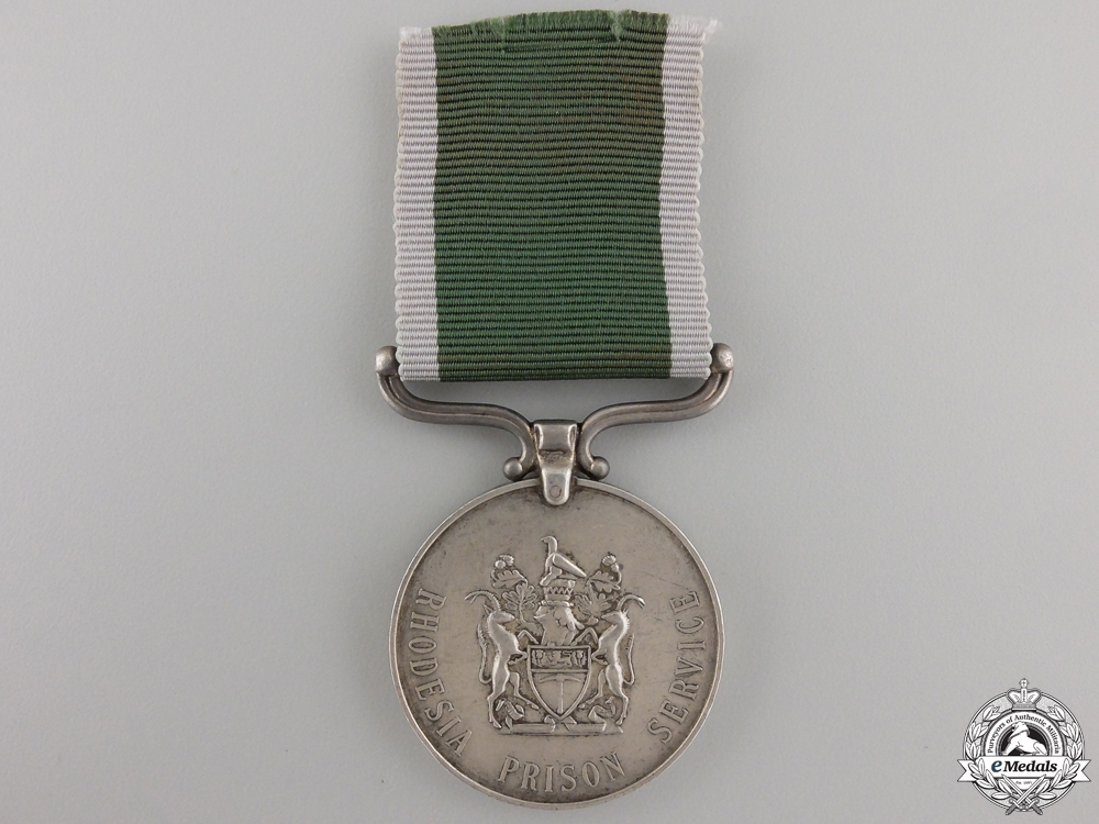 eMedals-A Rhodesia Prison Long Service & Good Conduct Medal