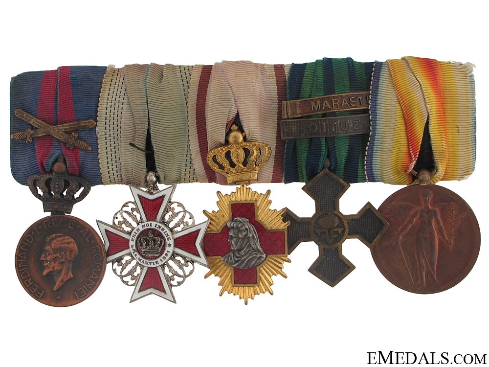 eMedals-A Romanian Group of Five