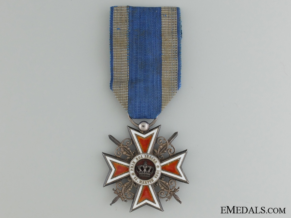 eMedals-A Romanian Order of the Crown; WWI Issue
