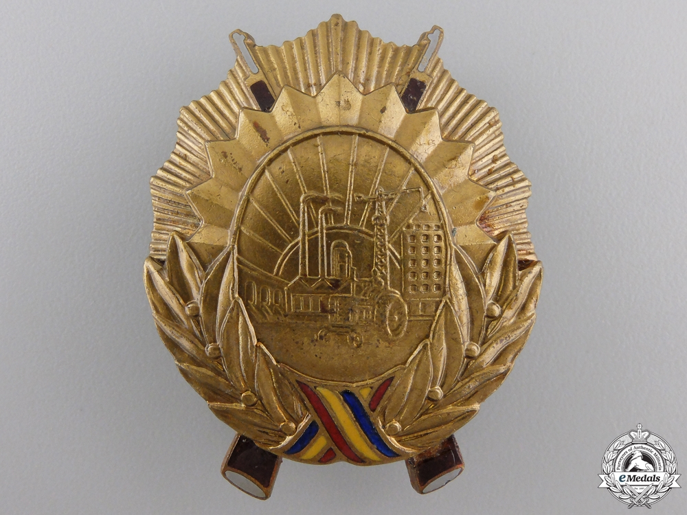 eMedals-A Romanian Order for Service to the Socialist Country; 3rd Class