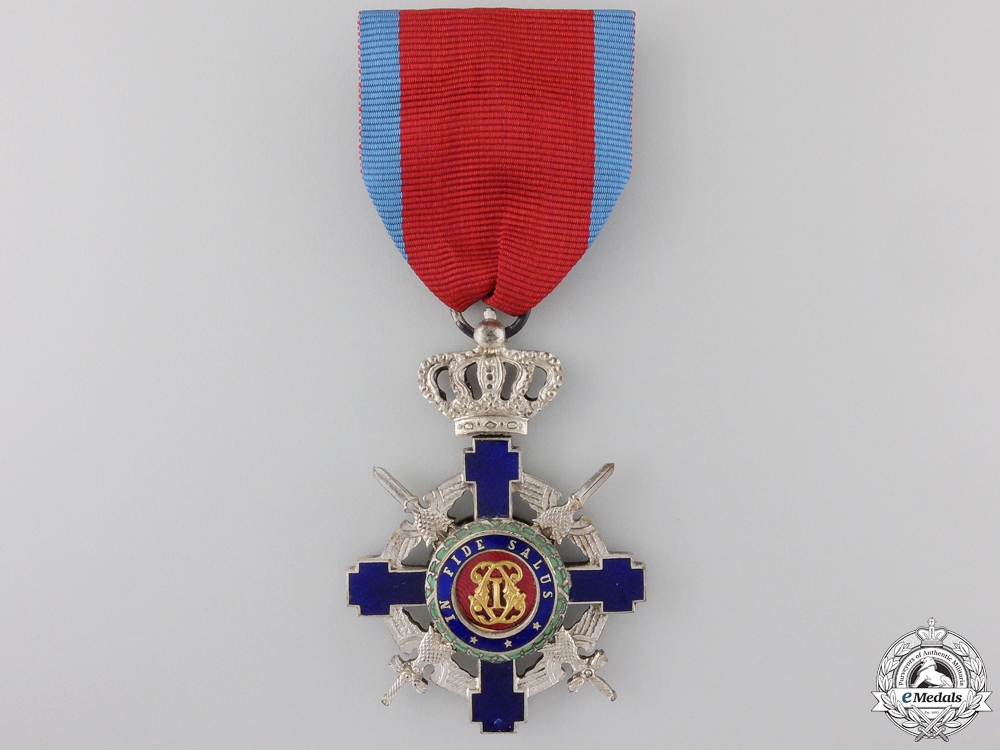 eMedals-A Romanian Order of the Star with Swords