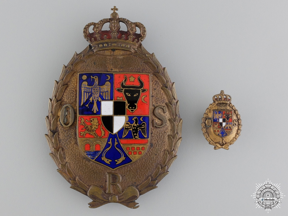 eMedals-A Romanian Sports Badge with Miniature
