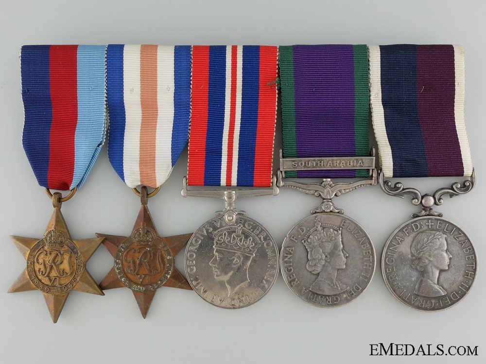 eMedals-A Royal Air Force Long Service Medal Grouping to Cpl. McKay