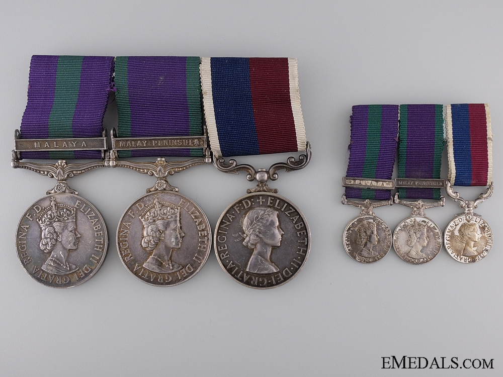 eMedals-A Royal Air Force & Long Service Medal Group for Malaya