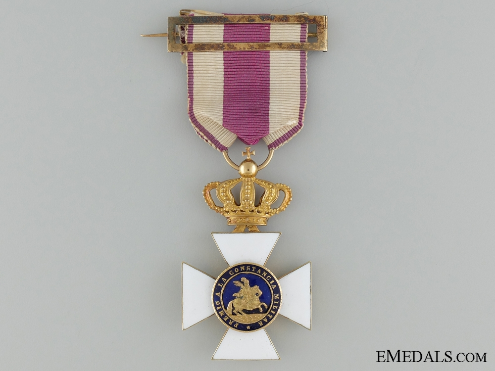 eMedals-A Royal Military Order of Saint Hermenegildo in Gold
