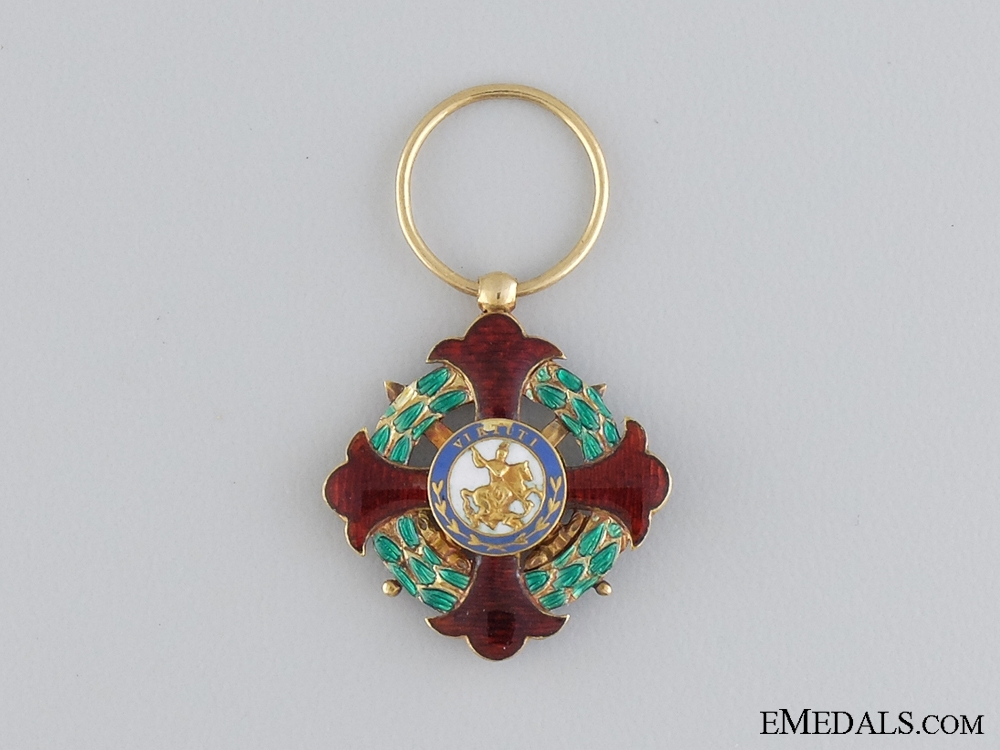 eMedals-A Royal Military Order of St. George; Kingdom of Two Sicilies