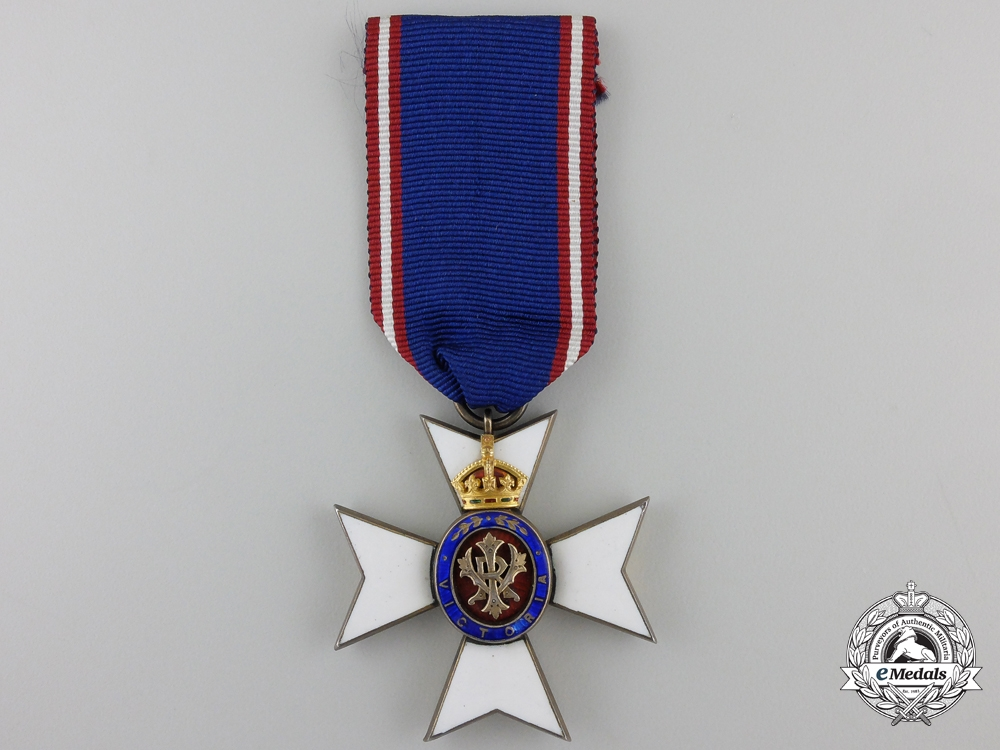 eMedals-A Royal Victorian Order; 4th Class (LVO)