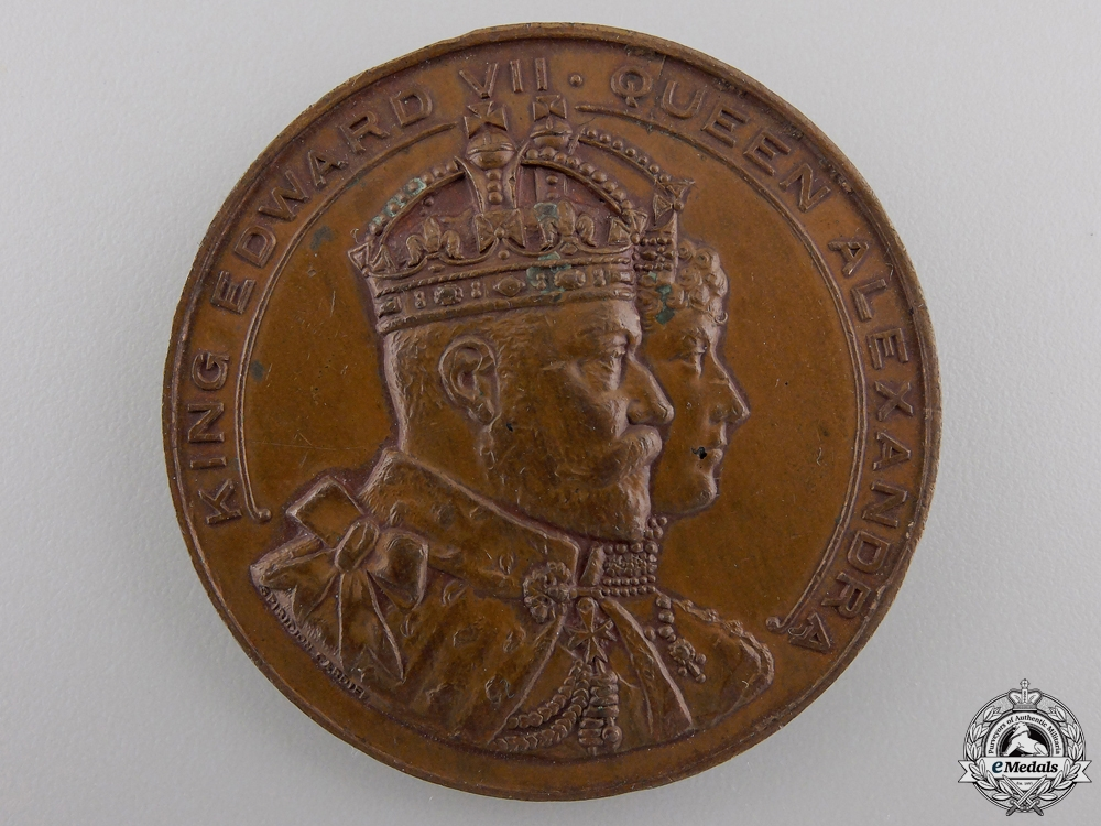 eMedals-A Royal Visit to Cardiff Commemorative Medal; July 13, 1907