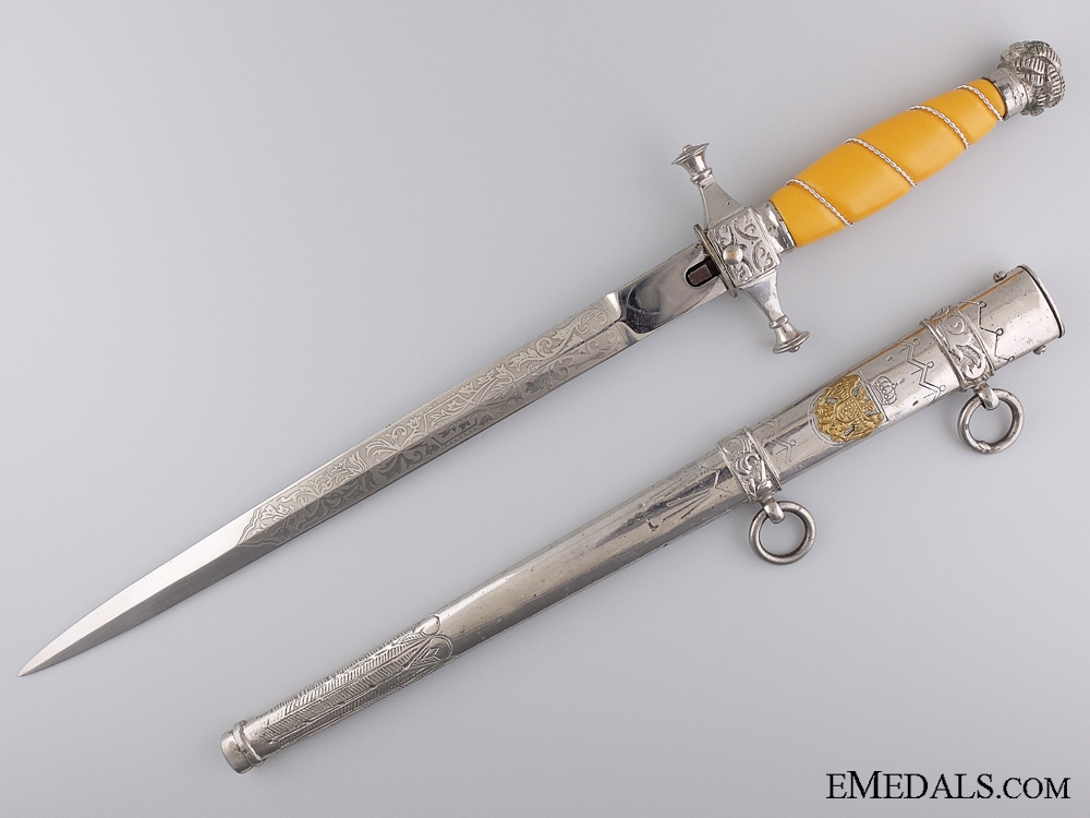 eMedals-A Royal Yugoslav Government and Police Officials Dagger c. 1940