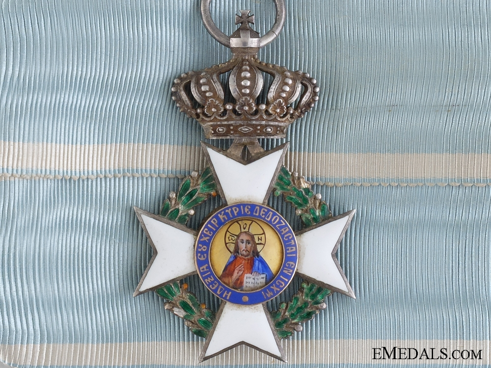 eMedals-A Russian Made Greek Order of the Redeemer; 1989-1908