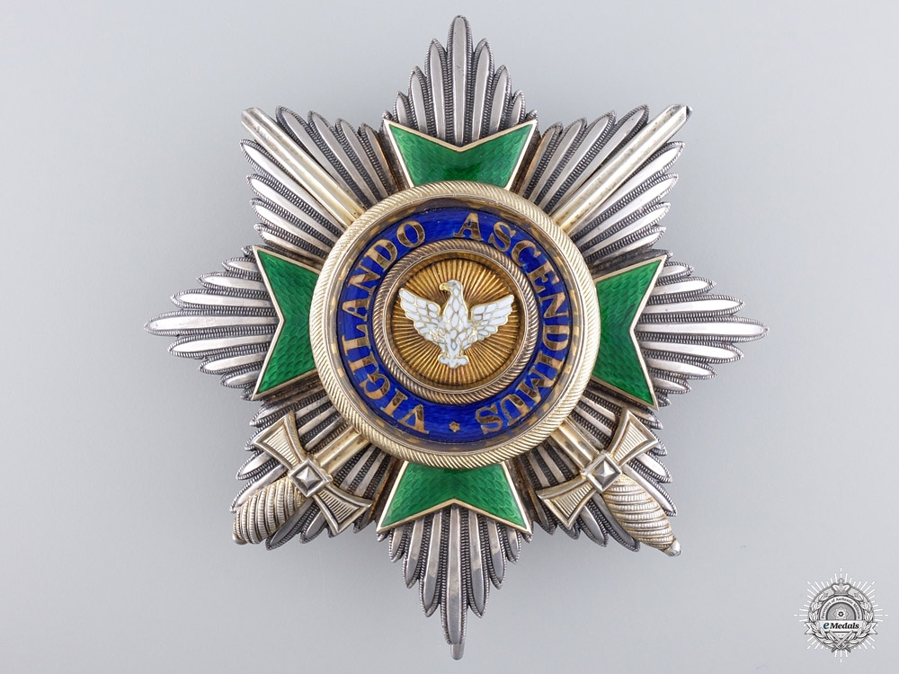 eMedals-A Saxe-Weimar Order of the White Falcon with Swords; Grand Cross Star