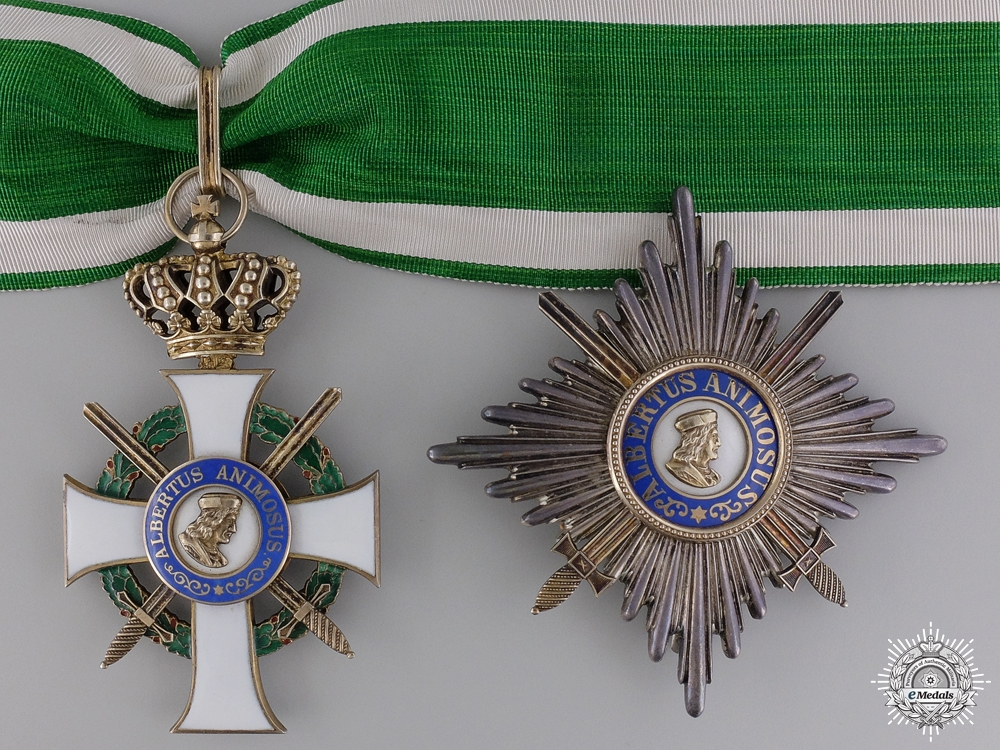 eMedals-A Saxon Order of Albert to the Commander of the 234th Division