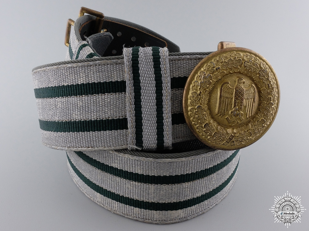 eMedals-A Scarce Army General's Belt And Buckle