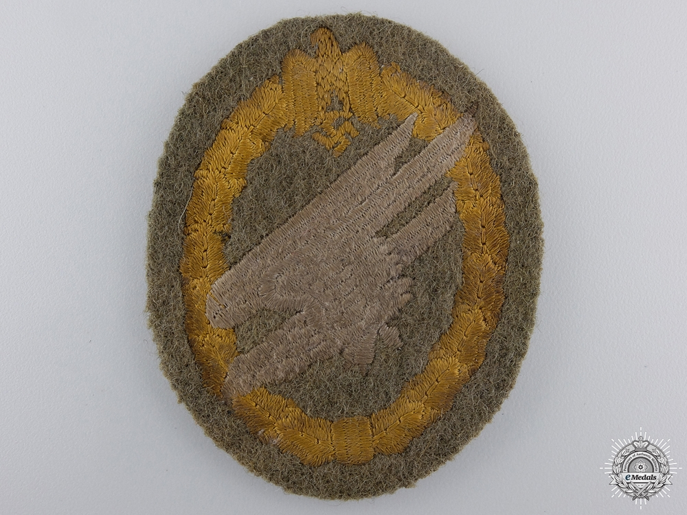 eMedals-A Scarce Army Paratrooper's Cloth Badge