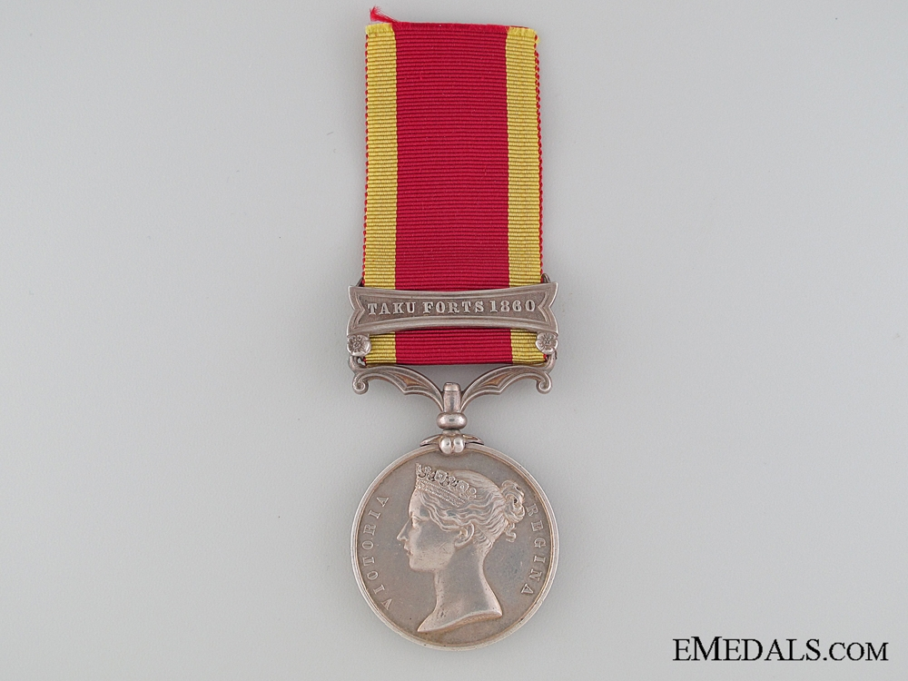 eMedals-A Second China War Medal 1857-1860 to the Royal Marine Artillery
