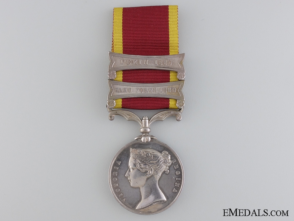 eMedals-A Second China War Medal to the 13th Brigade; Royal Artillery