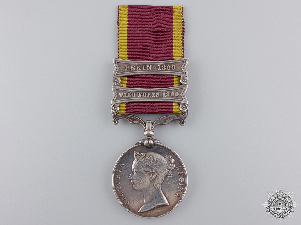 eMedals-A Second China War Medal to 1st Royal Regiment