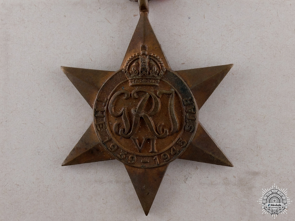eMedals-A Second War 1939-1945 Campaign Star with Box
