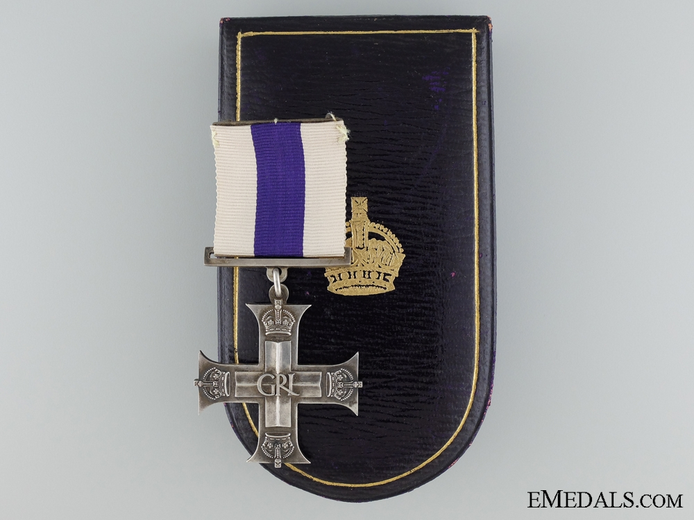 eMedals-A Second War 1944 Dated Military Cross