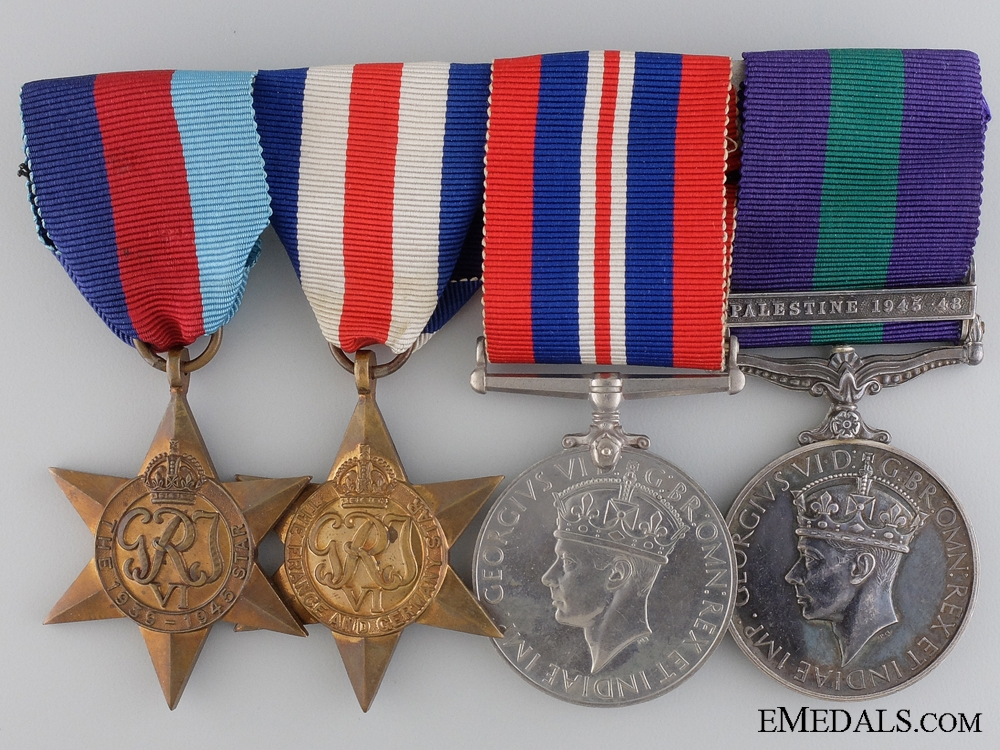 eMedals-A Second War & Palestine Group to the British Paratroopers