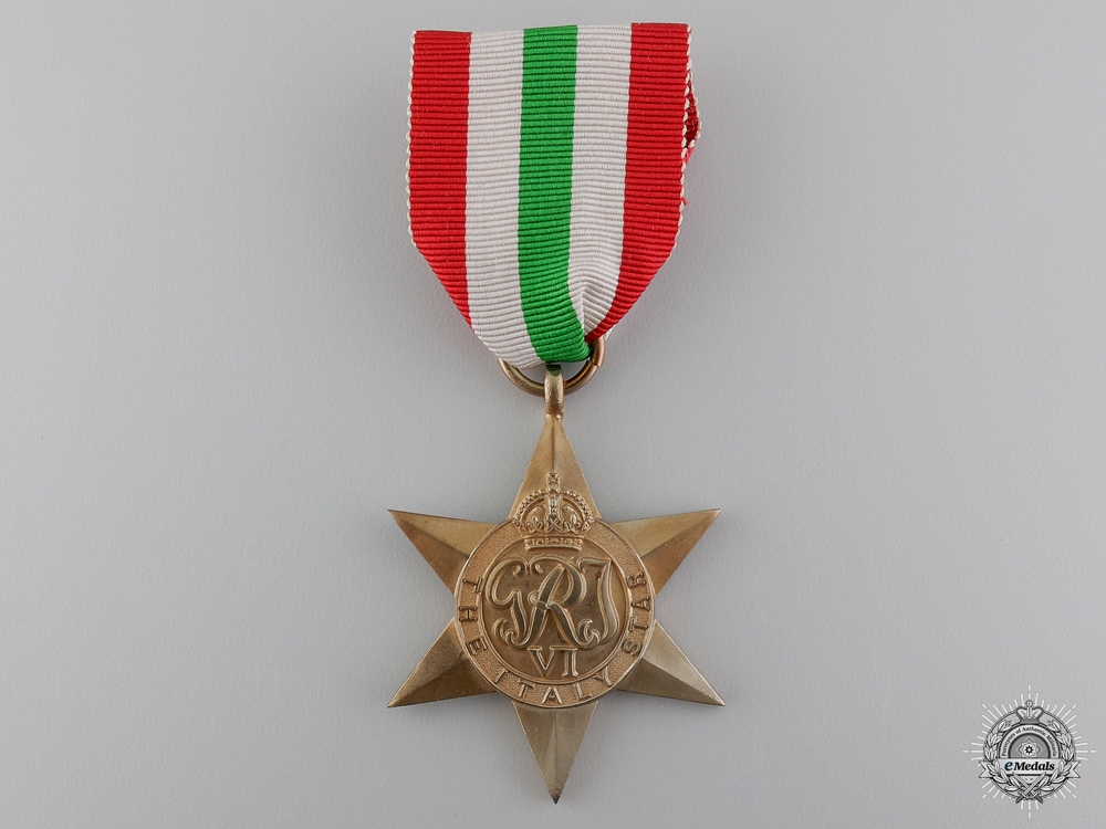 eMedals-A Second War Allied Italy Campaign Star