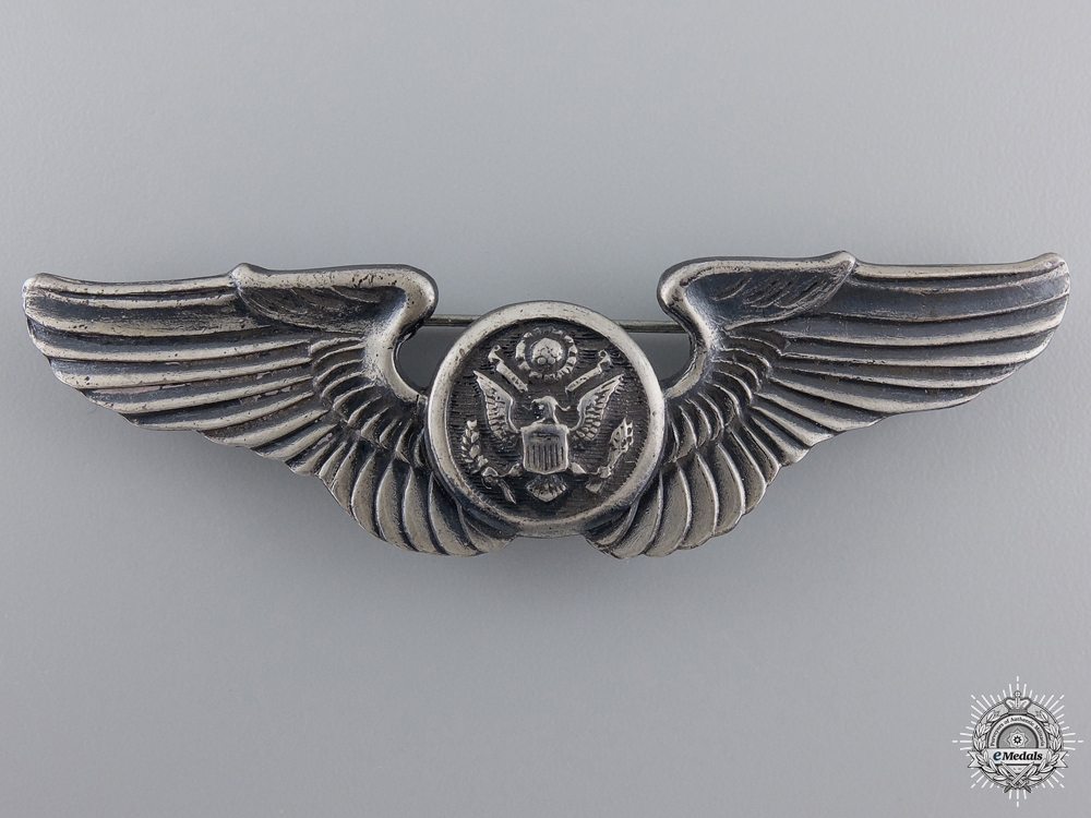 eMedals-A Second War American Army Air Force Aircrew Badge