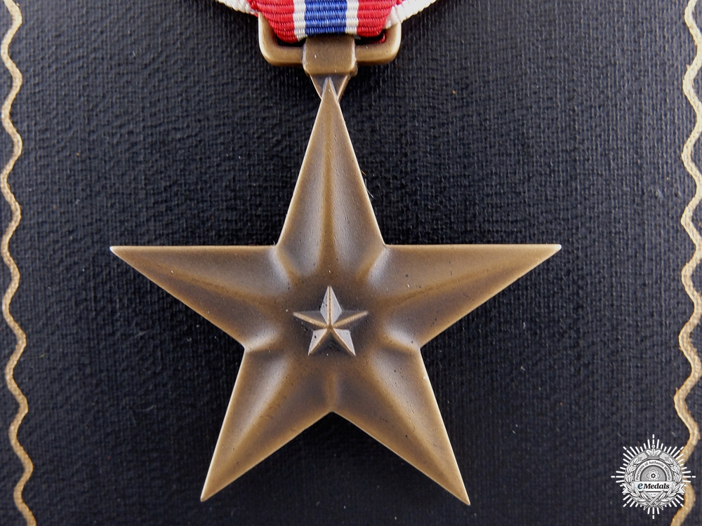 eMedals-A Second War American Bronze Star to Lt. Kosa 1942