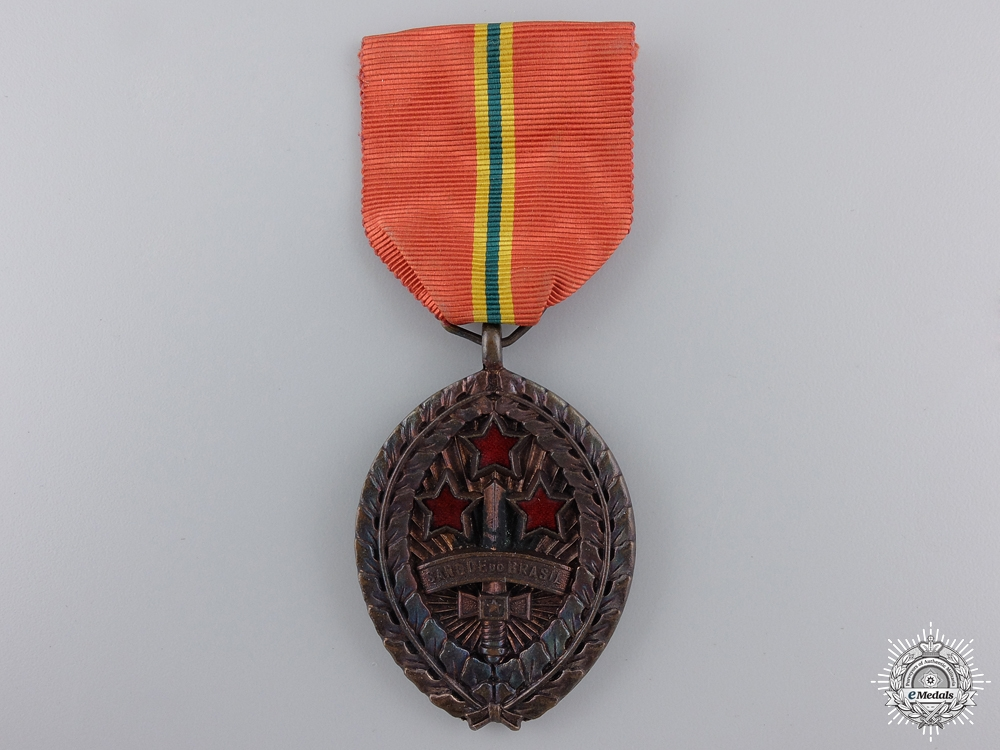 """eMedals-A Second War Army """"Blood of Brazil"""" Medal 1945"""