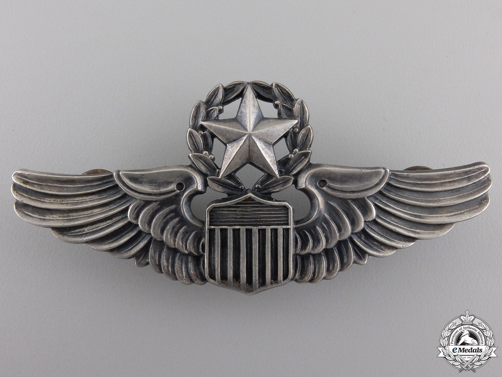 eMedals-A Second War Army Air Force Command Pilot Badge
