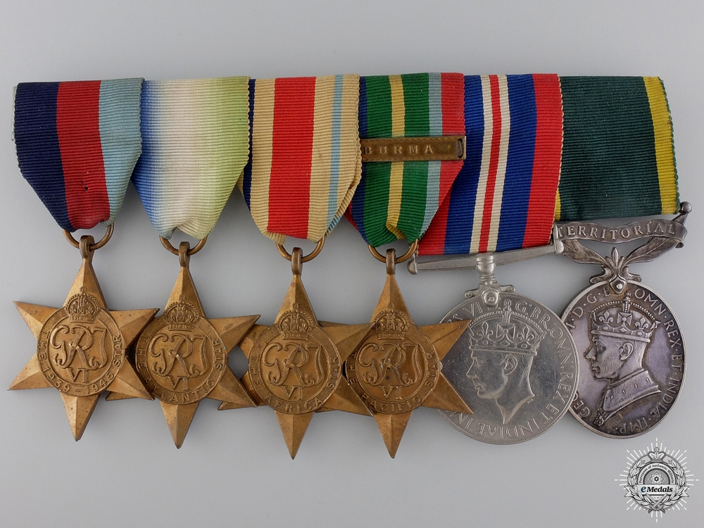 eMedals-A Second War British Group to the Lothians Regiment