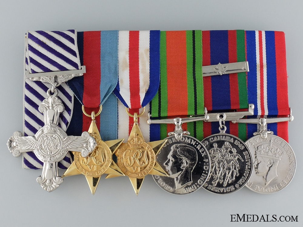 eMedals-A Second War Canadian Distinguished Flying Cross Group 1945