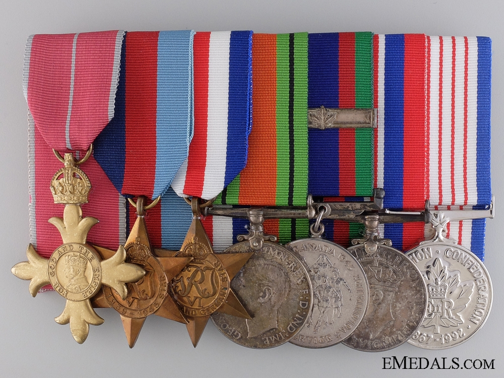 eMedals-A Second War Canadian OBE Group of Awards