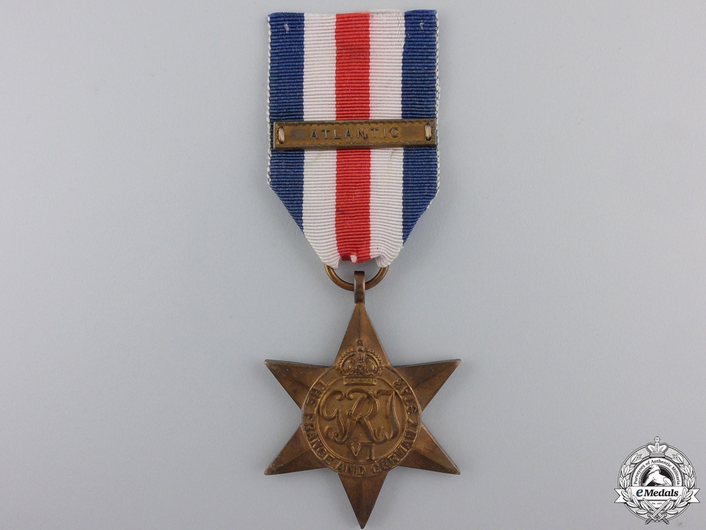 eMedals-A Second War France & Germany Campaign Star with Clasp