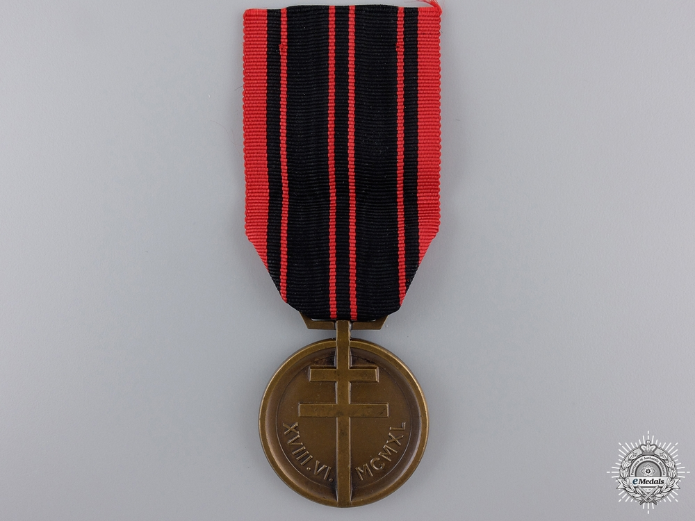 eMedals-A Second War French Resistance Medal