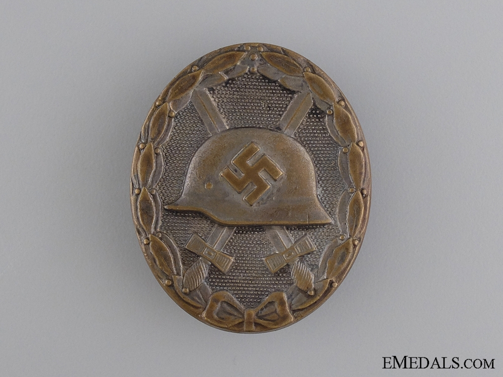 eMedals-A Second War German Wound Badge; Silver Grade by S&L