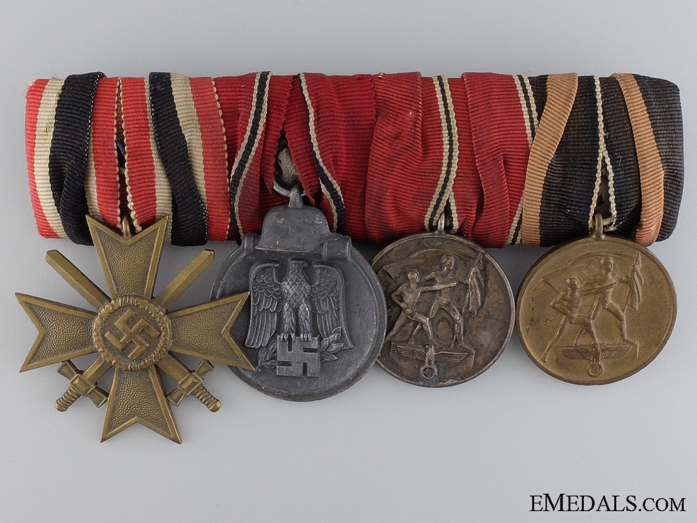 eMedals-A Second War Group of  Four Awards