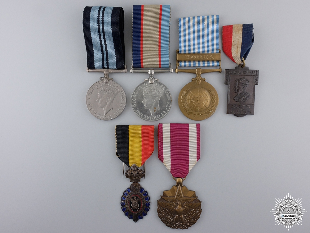 eMedals-A Second War Group of Six Medals & Awards