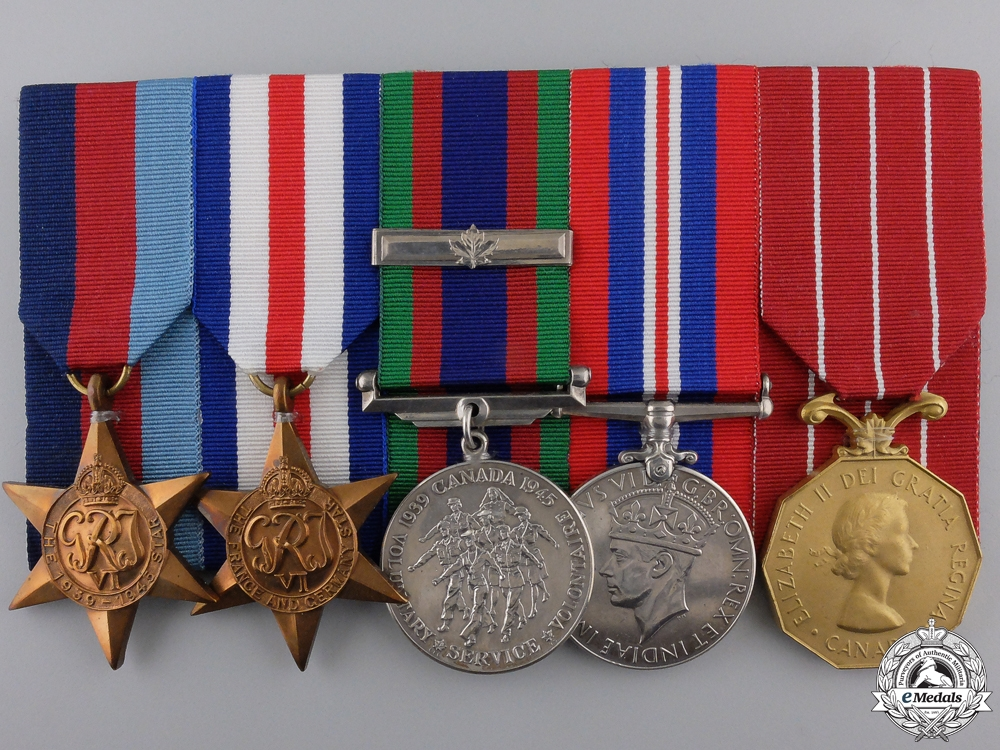 eMedals-A Second War Group to the Royal Canadian Navy