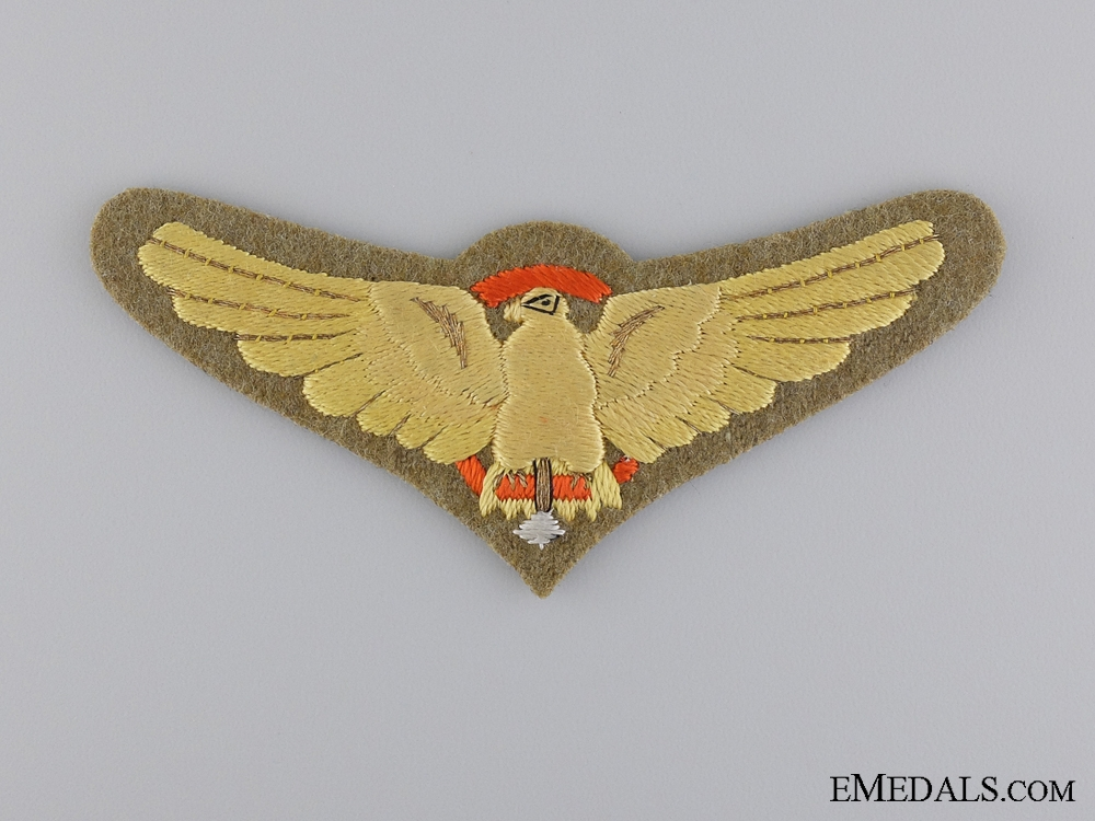 eMedals-A Second War Imperial Japanese Army Paratrooper Badge