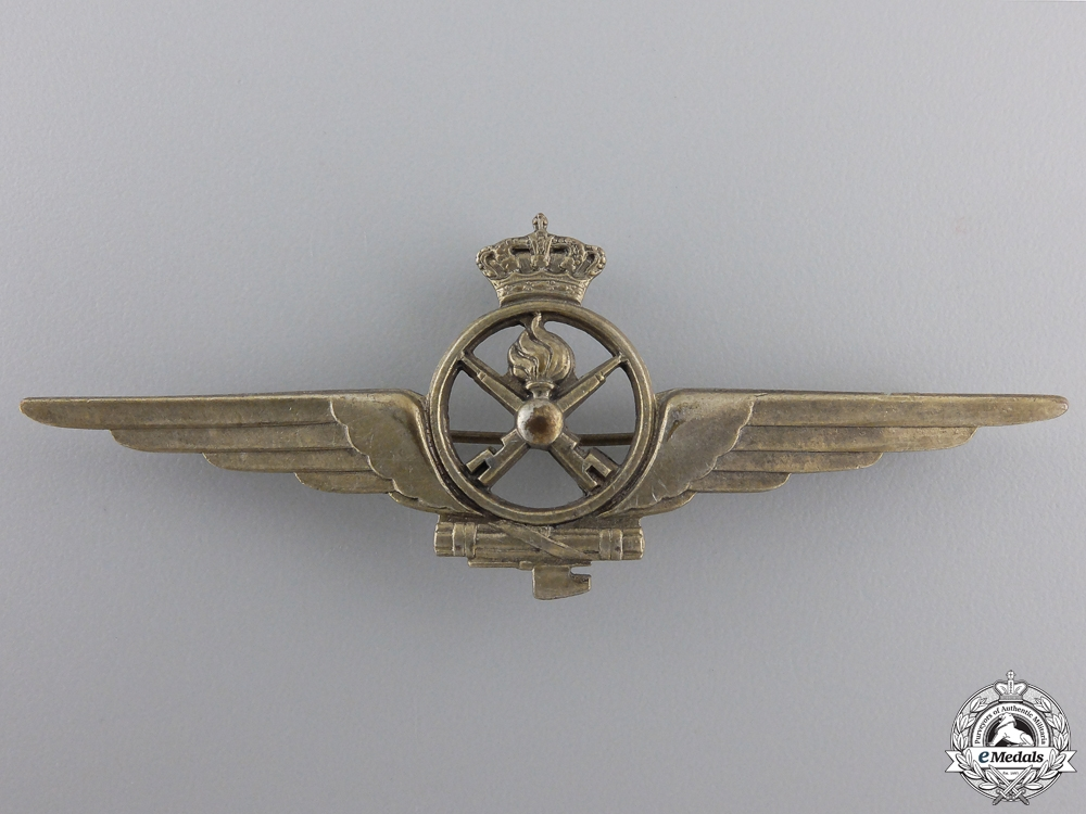 eMedals-A Second War Italian Air Force Armourer Badge