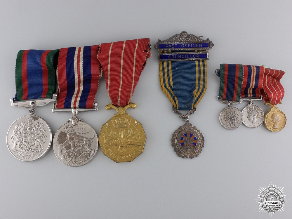 eMedals-A Second War Medal Group to the  Canadian Women's Army Corp