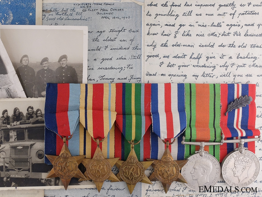 eMedals-A Second War MID Medal Group to the Royal Marines