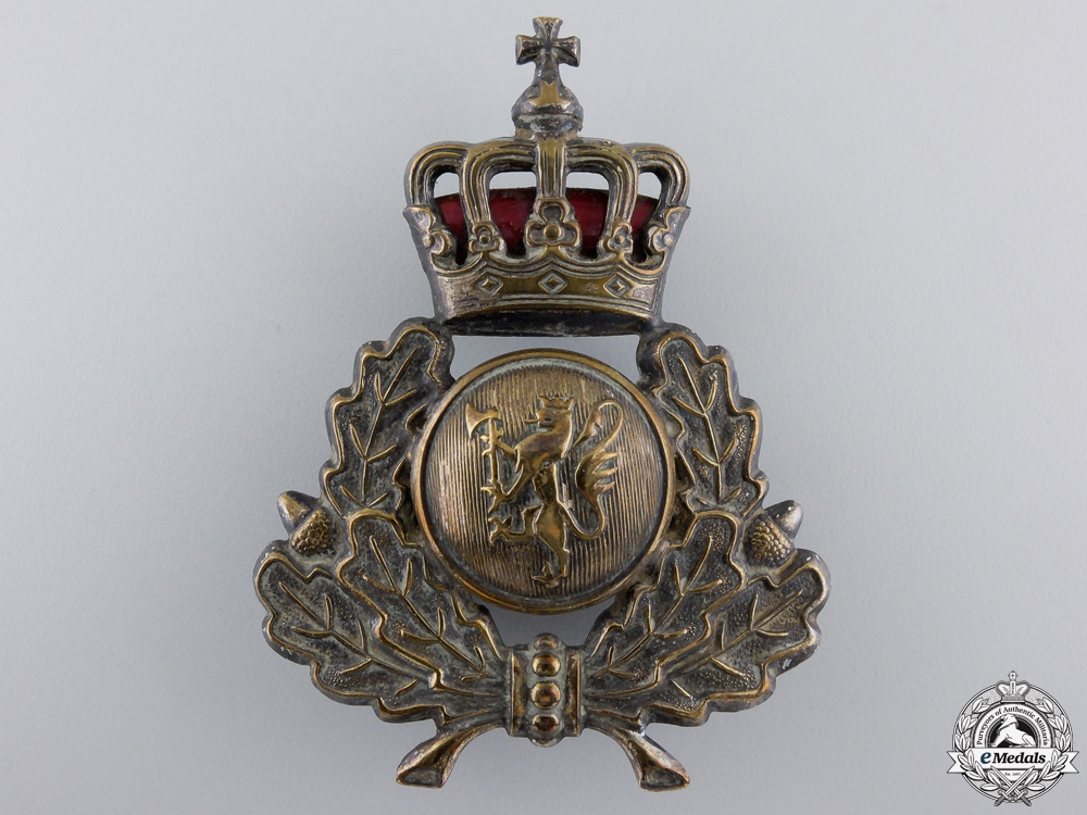 eMedals-A Second War Norwegian Army Cap Badge