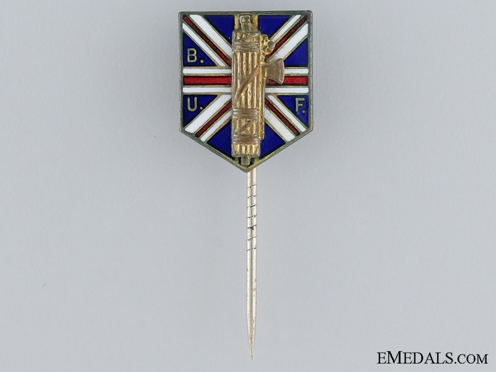 eMedals-A Second War Period British Union of Fascists Membership Badge