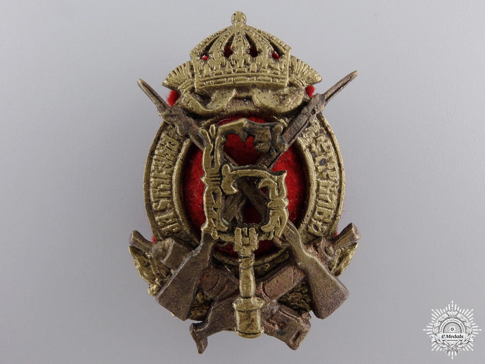 eMedals-A Second War Period Bulgarian Infantry Badge