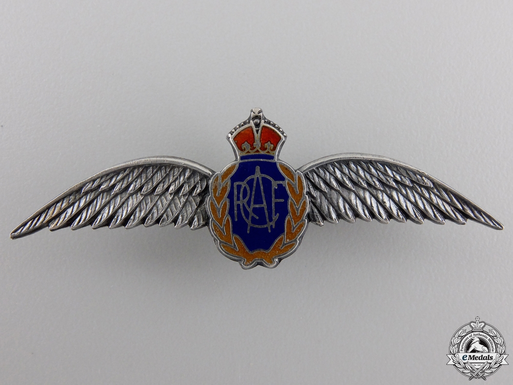 eMedals-A Second War RCAF Sweetheart Wing by Birks-Ellis