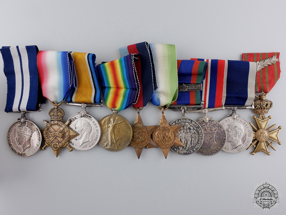 eMedals-A Second War Royal Canadian Naval Reserve D.S.M. to Robert White