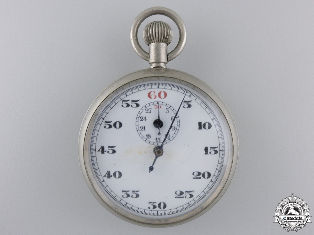 eMedals-A Second War Royal Canadian Air Force (RCAF) Stop Watch 1943