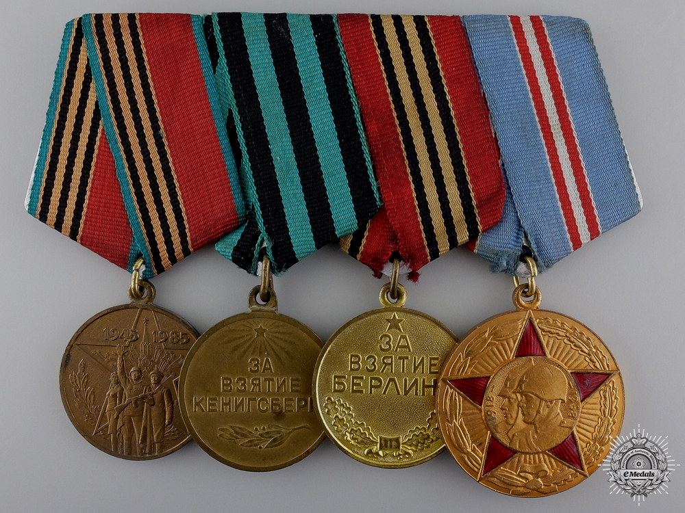 eMedals-A Second War Russian Victory Group of Four