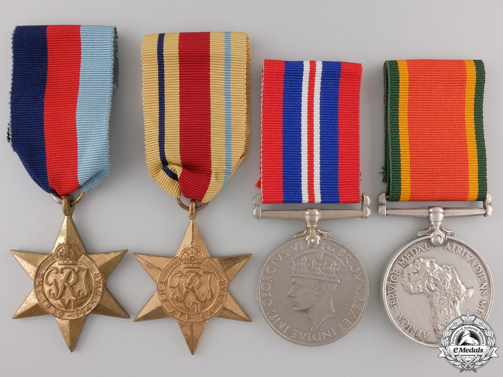 eMedals-A Second War South African Medal Group